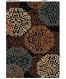 RugStudio presents American Rug Craftsmen Dryden Snowdrift Black Machine Woven, Better Quality Area Rug