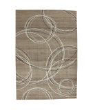 RugStudio presents American Rug Craftsmen Madison Spiral Stratum Dark Beige Machine Woven, Good Quality Area Rug