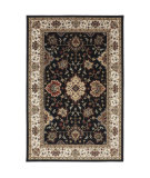 RugStudio presents American Rug Craftsmen Madison Rockefeller Black Machine Woven, Good Quality Area Rug