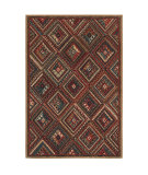 RugStudio presents American Rug Craftsmen Madison Ruby Falls Dark Brown Machine Woven, Good Quality Area Rug