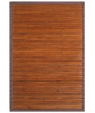RugStudio presents Anji Mountain Bamboo Contemporary Chocolate  Area Rug