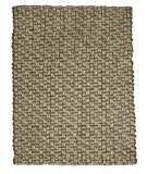 RugStudio presents Anji Mountain Jute/Wool Mumbai Sisal/Seagrass/Jute Area Rug