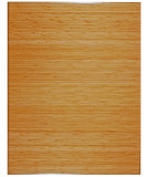 RugStudio presents Anji Mountain Bamboo Chair Mat Tri-Fold No Lip Natural Area Rug