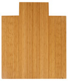 RugStudio presents Anji Mountain Bamboo Chair Mat Deluxe Lip Natural Area Rug