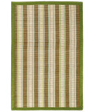 RugStudio presents Anji Mountain Hamptons Sweetfern Bamboo Woven Area Rug