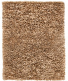 RugStudio presents Anji Mountain Paper Shag Mocha  Area Rug