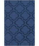RugStudio presents Rugstudio Sample Sale 112343R Navy Woven Area Rug