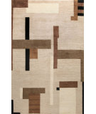 RugStudio presents Bashian Tribeca P220 Beige Hand-Knotted, Better Quality Area Rug