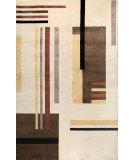 RugStudio presents Bashian Tribeca P258 Beige Hand-Knotted, Better Quality Area Rug