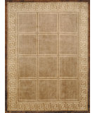 RugStudio presents Bashian Tribeca P265 Beige Hand-Knotted, Better Quality Area Rug