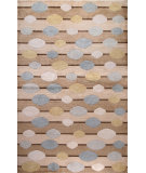 RugStudio presents Bashian Tribeca P289 Beige Hand-Knotted, Better Quality Area Rug