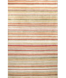 RugStudio presents Bashian Tribeca P214 Red Hand-Knotted, Better Quality Area Rug