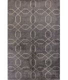 RugStudio presents Bashian Tribeca A148-Wv103 Pewter Hand-Knotted, Better Quality Area Rug
