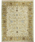 RugStudio presents Bashian Vintage I123-Hsa101 Ivory - Gold Hand-Knotted, Good Quality Area Rug