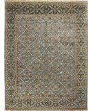 RugStudio presents Bashian Vintage I123-Hsa107 Slate Hand-Knotted, Good Quality Area Rug