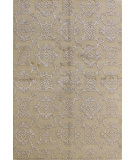 RugStudio presents Bashian Regent Jullienne Beige Hand-Knotted, Good Quality Area Rug
