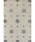 RugStudio presents Rugstudio Sample Sale 60258R White Hand-Knotted, Good Quality Area Rug