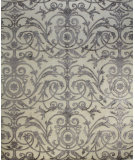 RugStudio presents Bashian Regent K149-Vs109 White Hand-Knotted, Good Quality Area Rug