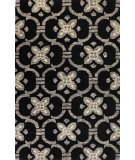 RugStudio presents Bashian Venezia R120-Cl123 Black Hand-Tufted, Better Quality Area Rug
