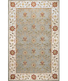 RugStudio presents Bashian Venezia Adhar Light Green Hand-Tufted, Good Quality Area Rug