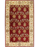 RugStudio presents Bashian Venezia R120-Cl109 Red Hand-Tufted, Better Quality Area Rug