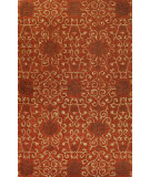 RugStudio presents Bashian Venezia Arian Rust Hand-Tufted, Good Quality Area Rug
