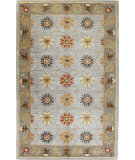 RugStudio presents Bashian Venezia Charkra Slate Hand-Tufted, Good Quality Area Rug