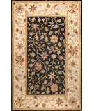 RugStudio presents Bashian Wilshire Hg110 Black Hand-Tufted, Better Quality Area Rug