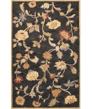 RugStudio presents Bashian Wilshire Hg113 Black Hand-Tufted, Better Quality Area Rug