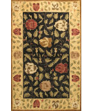 RugStudio presents Bashian Wilshire Hg121 Black Hand-Tufted, Better Quality Area Rug