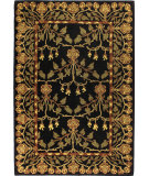 RugStudio presents Bashian Wilshire Crafts Black Hand-Tufted, Good Quality Area Rug