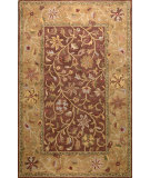 RugStudio presents Bashian Wilshire Hg110 Chocolate Hand-Tufted, Better Quality Area Rug