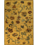 RugStudio presents Bashian Wilshire Hg113 Gold Hand-Tufted, Better Quality Area Rug