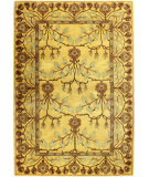RugStudio presents Bashian Wilshire Crafts Gold Hand-Tufted, Good Quality Area Rug