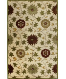 RugStudio presents Bashian Wilshire Hg120 Ivory Hand-Tufted, Better Quality Area Rug