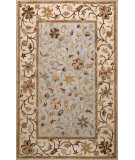 RugStudio presents Bashian Wilshire Hg110 Light Blue Hand-Tufted, Better Quality Area Rug