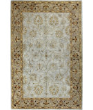 RugStudio presents Bashian Wilshire Moghul Light Blue Hand-Tufted, Good Quality Area Rug