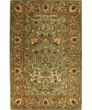 RugStudio presents Bashian Wilshire R128-Hg117 Light Green Hand-Tufted, Better Quality Area Rug