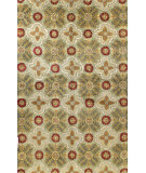 RugStudio presents Bashian Wilshire Kohinoor Light Green Hand-Tufted, Good Quality Area Rug