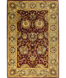 RugStudio presents Bashian Wilshire R128-Hg117 Red Hand-Tufted, Better Quality Area Rug