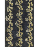 RugStudio presents Bashian Greenwich Laher Black Hand-Tufted, Good Quality Area Rug