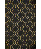 RugStudio presents Bashian Greenwich Veil Black Hand-Tufted, Good Quality Area Rug