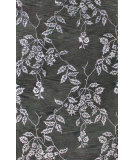 RugStudio presents Bashian Greenwich Serenity Black Hand-Tufted, Good Quality Area Rug