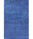 RugStudio presents Bashian Greenwich Blade Blue Hand-Tufted, Good Quality Area Rug