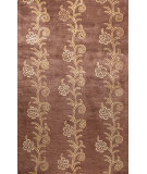 RugStudio presents Bashian Greenwich Laher Chocolate Hand-Tufted, Good Quality Area Rug
