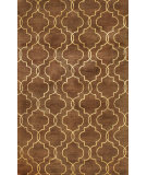 RugStudio presents Bashian Greenwich Veil Chocolate Hand-Tufted, Good Quality Area Rug