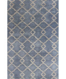 RugStudio presents Bashian Greenwich R129-Hg265 Denim Hand-Tufted, Better Quality Area Rug