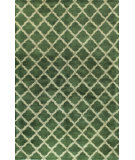 RugStudio presents Bashian Greenwich R129-Hg295 Green Hand-Tufted, Better Quality Area Rug