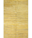 RugStudio presents Bashian Greenwich R129-Hg238 Gold Hand-Tufted, Better Quality Area Rug