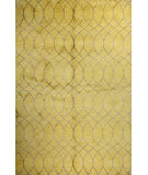 RugStudio presents Bashian Greenwich R129-Hg300 Gold Hand-Tufted, Better Quality Area Rug